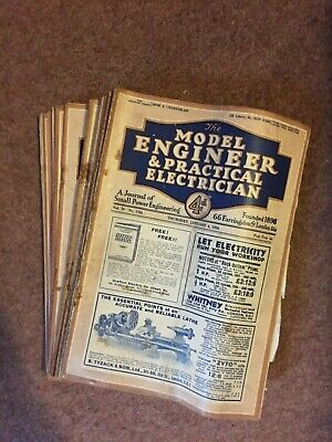 £19.99 • Buy The Model Engineer & Practical Electrician Magazine - Vol. 70, 1934 - 26 Issues