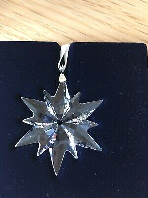Swarovski Annual Clear Little Star 2017 Decoration Christmas Bnib 5257592 • 20£
