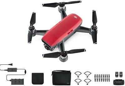 AU649 • Buy DJI Spark Fly More Combo  / Camera Drone - Lava Red