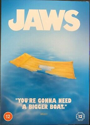 Jaws (1975) DVD Region 2 New & Factory Sealed • 0.99£