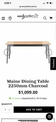 AU600 • Buy Brand New 8 Seater Dining Table