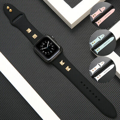 AU14.99 • Buy 42/44mm Silicone IWatch Band For Apple Watch Series SE 6 5 4 3 2 1 Strap 38/40mm