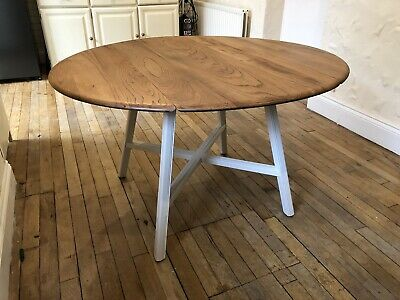Ercol Old Colonial Drop Leaf Extending Dining Table Model 377 • 299£