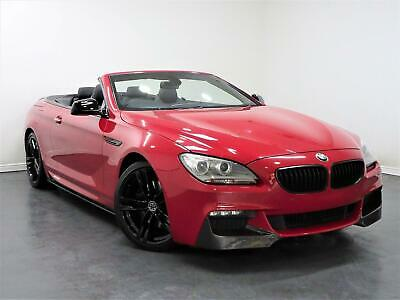 2012 BMW 640D AUTO-M SPORT CONVERTIBLE-IMOLA RED-PX SWAP-FINANCE FROM £87pw-  • 17,995£