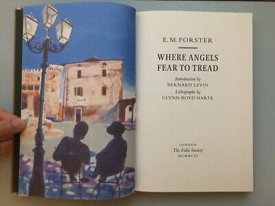 E M Forster Where Angels Fear To Tread Folio Edition Hardback • 8.60£