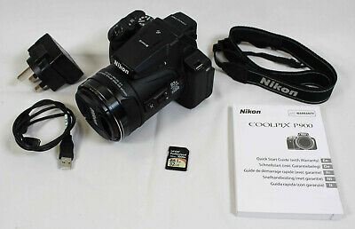 Nikon COOLPIX P900 16.0MP Digital Camera - 83x Zoom - 32GB SD Card Included • 321£