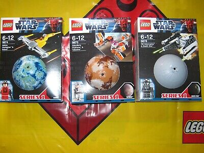 Lego Star Wars Planet Sets Series 1 9674 9675 9676 From 2012 New & Sealed Lot B • 89.99£