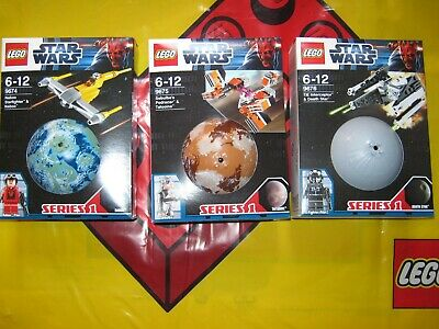 Lego Star Wars Planet Sets Series 1 9674 9675 9676 From 2012 Brand New & Sealed • 99.99£