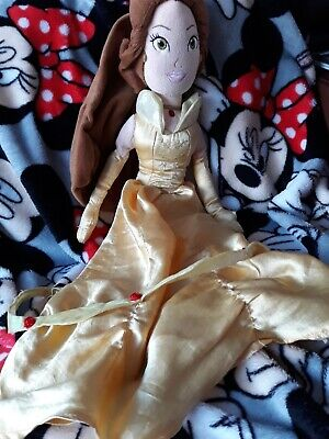 Disney Store Exclusive Princess Belle Soft Plush Doll Toy Teddy  • 3.50£