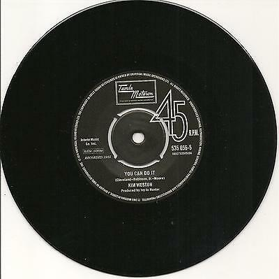 KIM WESTON - You Can Do It / SPINNERS - NORTHERN SOUL - 7'' 45rpm - LISTEN!! • 54.99£