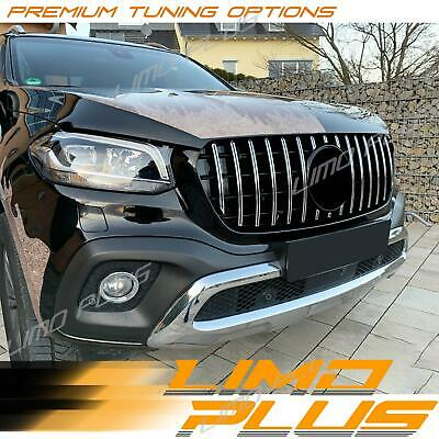 AU339.99 • Buy Chrome Front GT Grille Grill For Mercedes Benz X-Class 2018 2019 2020