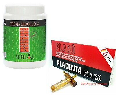 £19.99 • Buy Serical Placenta Hair Mask + Placenta PLACO Ampoules For Hair Growth Lotions(Aga