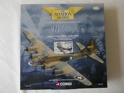 Corgi Aviation Archive AA31103 Die Cast Boeing B-17 Fortress Yankee Doodle 1:144 • 27.99£
