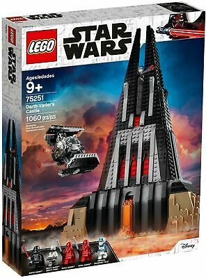AU257.99 • Buy LEGO 75251 Star Wars Darth Vader's Castle - BRAND NEW SEALED