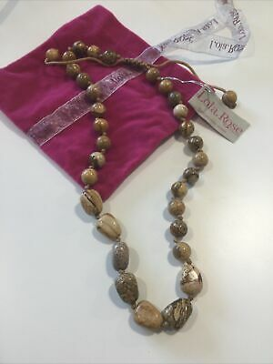 Stunning Tigers Eye Necklace By Lola Rose BNWT • 10£