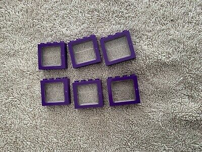 AU5 • Buy Lego Purple Windows  4 X 4  With Glass Harry Potters Bus Lot Of 6