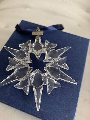 Swarovski Crystal   2007 CHRISTMAS STAR  • 45£