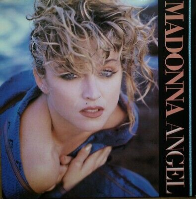 Madonna - Angel - Carded Sleeve - Vinyl Record - 45 RPM ( SO ) • 4.25£