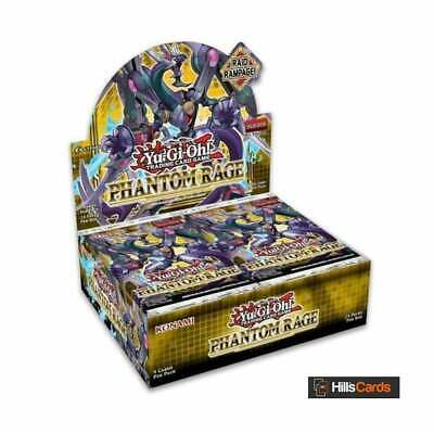 YuGiOh Phantom Rage Sealed Booster Box Of 24 Packs | 1st Edition TCG Cards PHRA • 64.95£