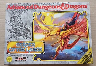 Vintage Dungeons & Dragons Heroes Of The Lance- IBM PC & 100% Compatibles • 15£