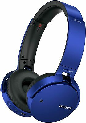 Sony MDRXB650BT Extra Bass Wireless Bluetooth Stereo Over-Ear Headphones Headset • 64.99£