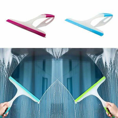Window Squeegee Glass Cleaning Rubber Wiper Washer Shower Blade Tile • 2.39£