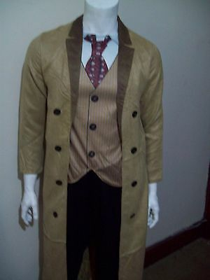 £15.99 • Buy DR WHO  THE 10th DOCTOR   DAVID TENNANT  FANCY DRESS COSTUME   EXTRA  LARGE