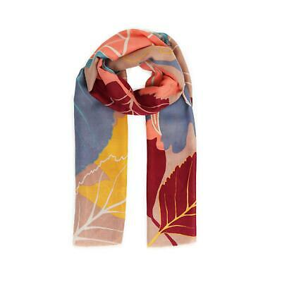 Powder Design Autumn Leaves Printed Scarf | Slate • 21.99£