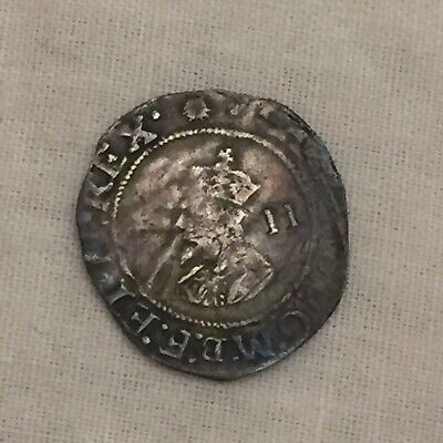 King Charles 1st Halfgroat Silver Hammered Coin I • 65£