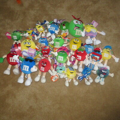 $125.99 • Buy Huge M&M's Plush Toy Lot Of 24...4 Inches To 9 Inches