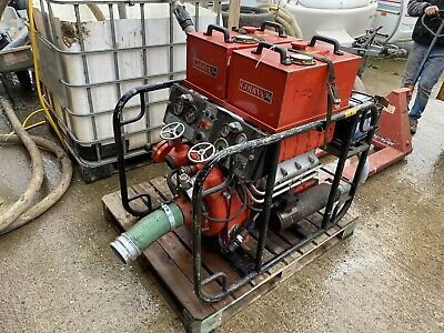 Two Godiva Fire Pumps GN1700/GPN633 Diesel Powered Water Pump • 850£