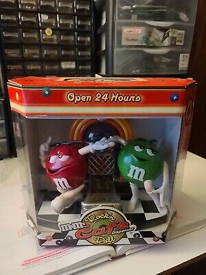 $100 • Buy Collector Rare M&M's Rock'n Roll Cafe Jukebox Candy Dispenser First Edition