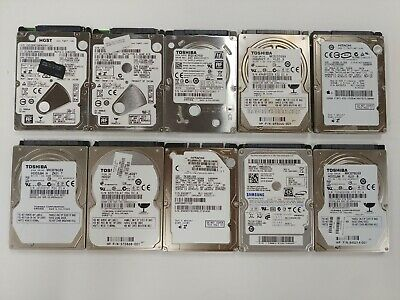 $ CDN132.15 • Buy LOT OF 10 - 320GB Toshiba Hitachi HGST Hitachi HDD SATA 2.5  Laptop Hard Drives