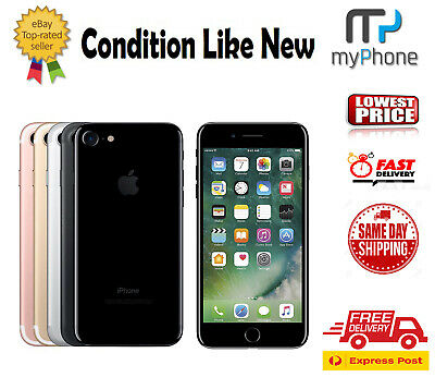 AU255 • Buy As New Apple IPhone 7 32GB 128GB 256GB 4G LTE Unlocked Smartphone All Colors Exp