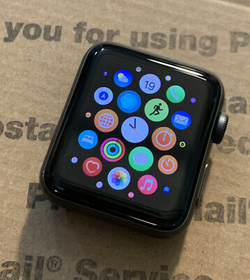 $ CDN211.42 • Buy Apple Watch Series 3 42mm Space Gray Aluminum Case GPS + Cellular *Watch Only*