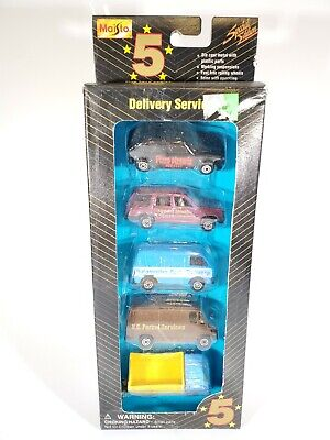 $ CDN18.09 • Buy 1995 Maisto Special Edition Series 5 Pack  Delivery Services  NIB