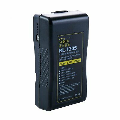 AU329.99 • Buy Rolux RL-130S V-Mount Battery 130Wh (Black)