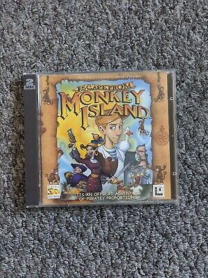 Escape From Monkey Island (PC Game, 2000) • 4.95£
