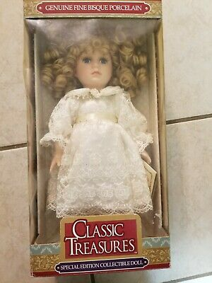 $ CDN13.14 • Buy Porcelain Classic Doll Treasures Bisque Edition Fine Special Genuine Collectible