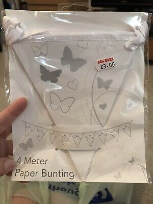 Butterfly Bunting • 1.50£