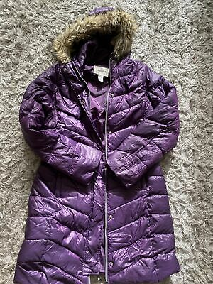 LANDS END Girls Winter Down Coat Age 10-12 (140-152) • 4£