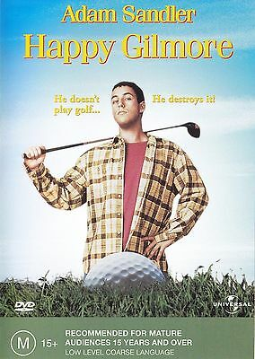 AU10.92 • Buy Happy Gilmore DVD Movie Adam Sandler BRAND NEW R4