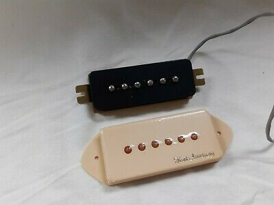 Kent Armstrong S-10 Vintage Output Dogear P90 Pickup, Cream Cover • 10.26£