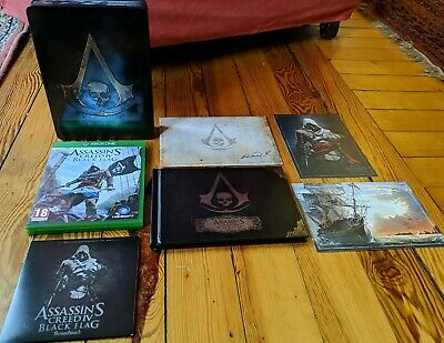 Assassin's Creed IV: Black Flag: Xbox One: The Skull Edition Steelcase Complete. • 14.99£