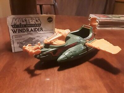 $55 • Buy Vintage 1982 Wind Raider He-Man Vehicle Masters Of The Universe Instructions NM