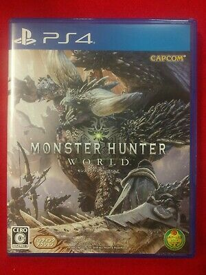 AU34.95 • Buy PS4 Japan - Monster Hunter World JAPAN Edition Used Like New!