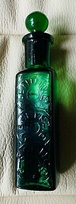 Antique Genuine Mackenzie Essence Smelling Salts Bottle + Original Glass Stopper • 15£