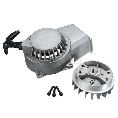 AU22.99 • Buy Metal Pull Start Pullstarter Flywheel 47cc 49cc Mini Scooter Dirt Bike ATV Quad