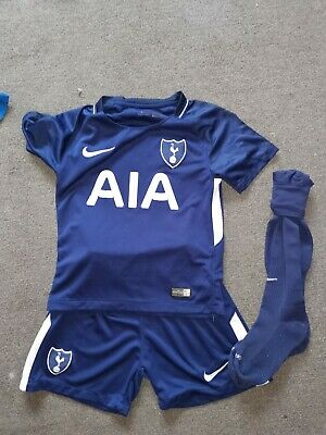 6-7 Years Boys Personalised (Maxwell) Tottenham Blue Football Kit • 5.99£