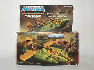$59.99 • Buy VINTAGE Wind Raider BOX ONLY - MOTU Masters Of The Universe He-Man Mattel 1981
